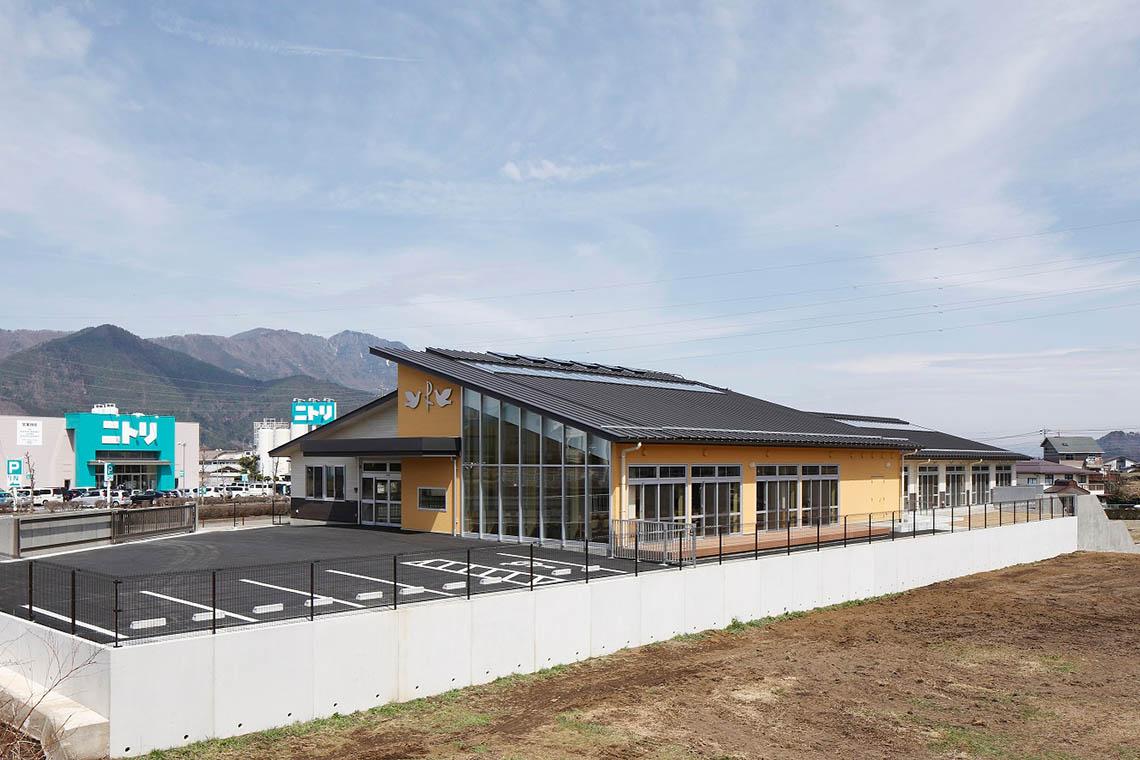 社会福祉法人聖ヨハネ会富士北麓聖ヨハネ支援センター外観